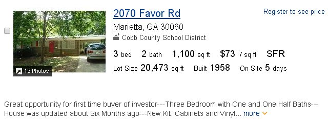 Cobb County homes